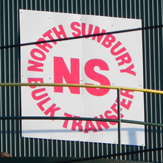 North Sunbury Bulk Transfer sign
