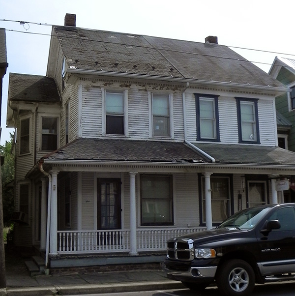 Front View - Spruce Street