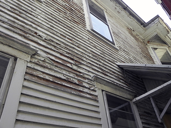 Unmaintained Siding