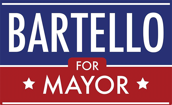 Bartello for Mayor Yard Sign