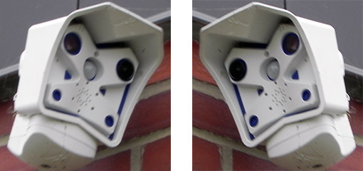Sunbury PA security cameras can not be accessed except through a third party - the camera installer!