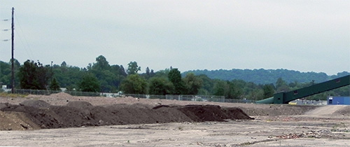 Fracking waste dumped at the former Celotex site, Sunbury PA